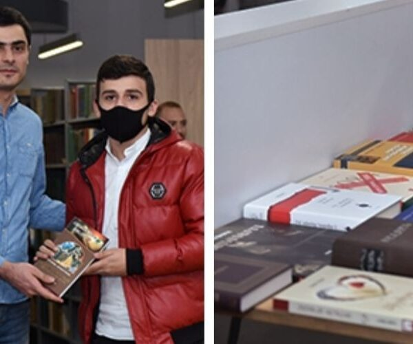 ԵՊՀ Գևորգ Արշակյանի անվան ընթերցասրահում աշակերտները պարգևատրվեցին գրքերով