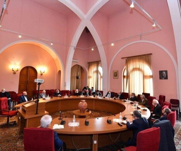 «Բարձրագույն կրթության և գիտության մասին» օրենքը քննարկվել է ԳԱԱ նախագահության անդամների հետ