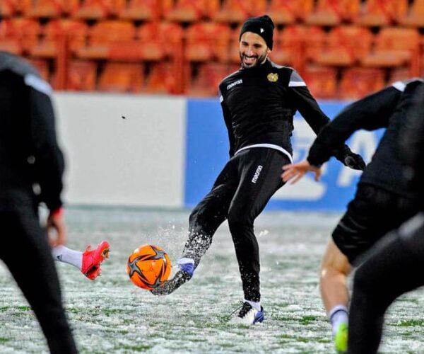 Հենրիխ Մխիթարյանը հաջողություն է մաղթել Հայաստանի հավաքականին