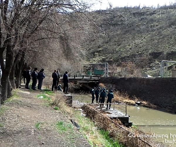 «Երևան ՀԷԿ-3» ջրամբարում հայտնաբերվել է դի