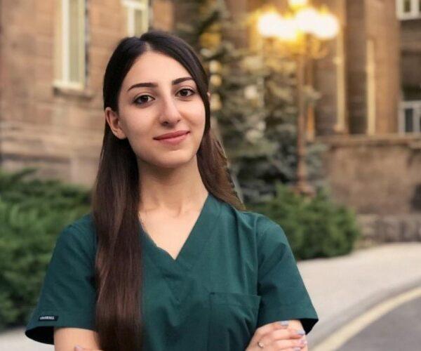 ԵՊԲՀ լավագույն ուսանողը ծրագրում է կլինիկական գործունեությունը համատեղել մանկավարժականի հետ