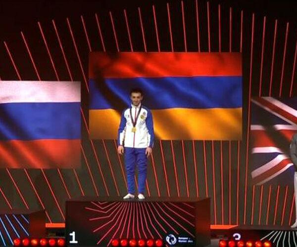 Մարմնամարզիկ Արթուր Դավթյանը՝ Եվրոպայի չեմպիոն. տեսանյութեր