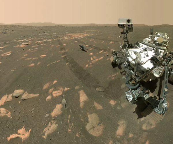 NASA-ի Ingenuity անօդաչու թռչող սարքը շրջել է Մարսի տարածքով
