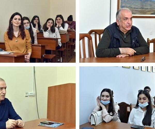 ԵՊՀ –ն հյուրընկալել էր Գյումրու «Նոր լույս» ՀԿ-ի սաներին
