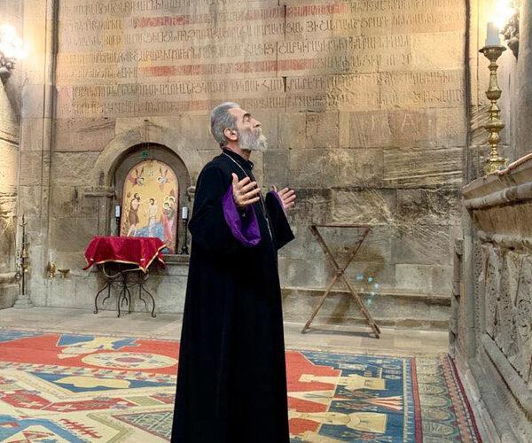 Արցախի թեմի առաջնորդն ու Պարգև արքեպիսկոպոսն այցելել են Գանձասարի վանական համալիր