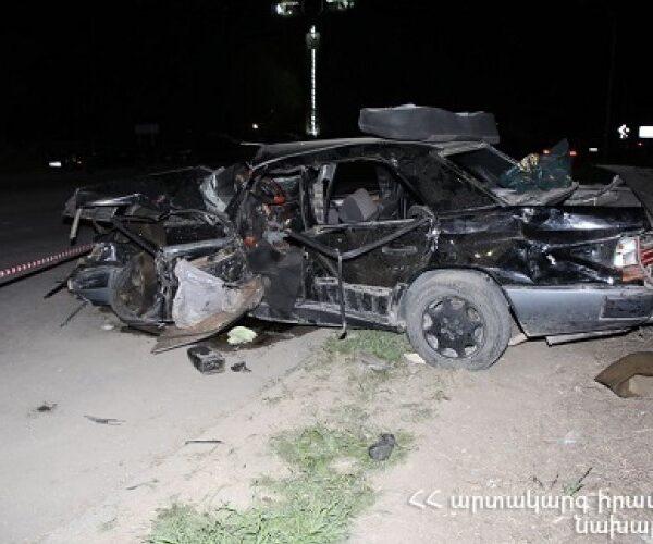 ՃՏՊ Սարդարապատ գյուղի սկզբնամասում. 26-ամյա վարորդը մահացել է