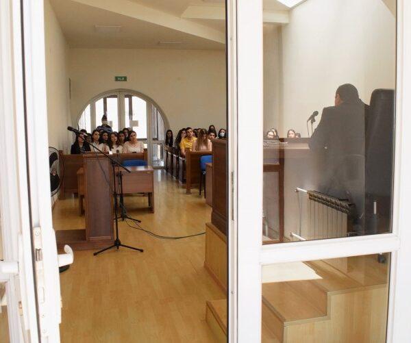 Ուսանողները մասնակցել են դատական նիստի