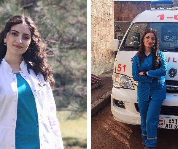 ԵՊԲՀ-ի ուսանողուհին պատերազմի օրերին վիրավորներ է տեղափոխել Ստեփանակերտից Երևան