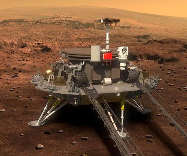 Չինական ավիատիեզերական սարքը վայրէջք է կատարել Մարսի վրա