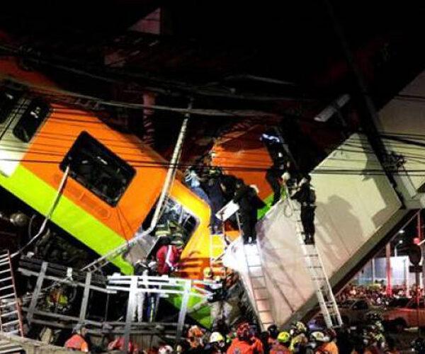 Մեխիկոյում մետրոյի կամուրջը փլուզվել է գնացքի անցնելու պահին. կան զոհեր
