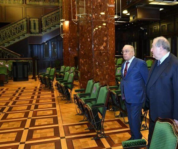 Արմեն Սարգսյանն այցելել է Մոսկվայի Լոմոնոսովի անվան պետական համալսարան