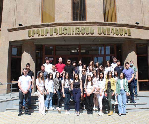 Տարբեր ԲՈՒՀ-երի իրավագիտության ֆակուլտետի ուսանողներ այցելել են Արդարադատության ակադեմիա