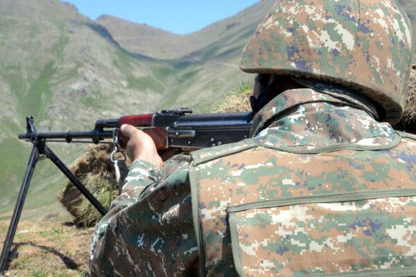 Թշնամին կրակել է Երասխի  հայկական դիրքերի ուղղությամբ