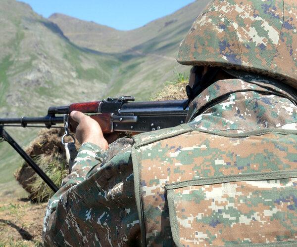 Ադրբեջանցիները կրակել են հայկական դիրքերի ուղղությամբ. մեր կողմից կա մեկ զոհ