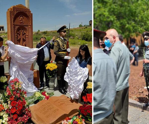 Բժիշկը զոհվեց պատերազմի 40-րդ օրը. Զովունիում խաչքար է բացվել