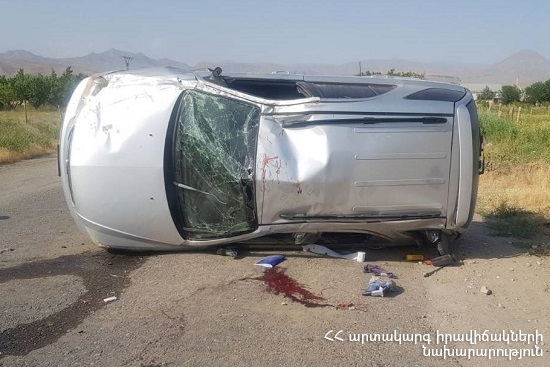 ՃՏՊ Վեդի-Արարատ ճանապարհին. 16-ամյա վարորդը տեղում մահացել է