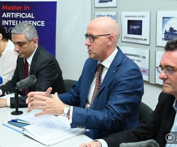 Հայաստանում ֆրանսիական համալսարանը սկսում է «Արհեստական բանականություն» մագիստրոսական ծրագիրը